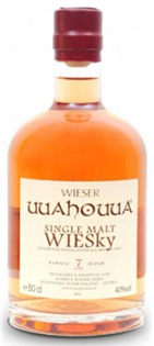 Wieser Wiesky Single Malt 7 Year Pinot Noir Uuahouua 750ml